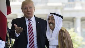 ترامب يشكر أمير الكويت لدعم وحدة الخليج.. ويتابع الأزمة