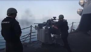 مناورات عسكرية مشتركة لأمريكا وبريطانيا وفرنسا وأستراليا في الخليج.. وإيران: لن تحقق شيئاً