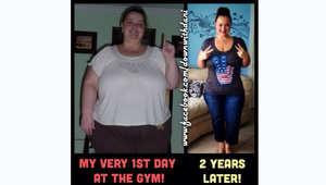 قبل وبعد.. شاهدوا كيف فقدت هذه الشابة 68 كيلوغراماً من وزنها