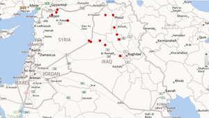 التطورات العراقية.. تعرف على المناطق التي تتواجد فيها داعش حاليا