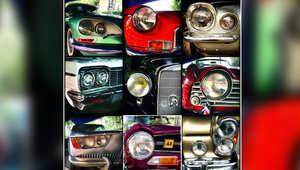 معرض للسيارات الكلاسيكية أقيم في قصر سعد آباد بالعاصمة الإيرانية، طهران