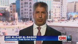 البشير لـCNN: نحن متحدون.. ويرد على خروج عناصر من الجيش السوري الحر وانضمامهم لداعش