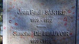 جان بول سارتر وسيمون دو بيفوار