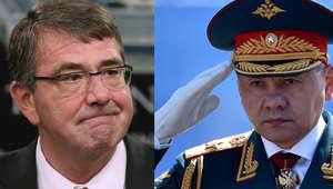 """وزير الدفاع الروسي: أطلقنا عمليات ضد """"داعش"""" من بحر قزوين"""