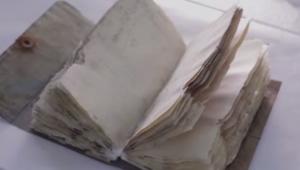 اكتشاف دفتر مذكرات عمره مائة عام بين جليد القطب المتجمد