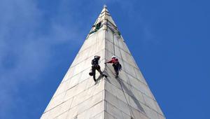 ما قد يحصل إذا تعطّل المصعد على ارتفاع 288 قدماً؟