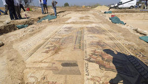 ألق النظرة الأولى على أحد أعظم الاكتشافات الأثرية الحديثة