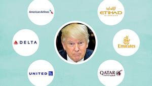 رغم غضب شركات الطيران الأمريكية من نظيراتها الخليجية.. مصدر يؤكد لـCNN تغيب القضية عن الأجندة الرسمية لاجتماع ترامب