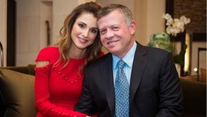 هكذا احتفلت الملكة رانيا بعيد الحب