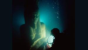 آثار مصرية غارقة ستعرض للمرة الأولى في بريطانيا