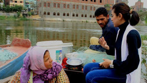 نسمة الجلاد من ميدان التحرير إلى منصة الأزياء في مصر