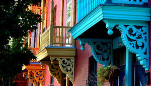 في أي مدينة توجد هذه الأحياء الجميلة؟