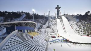شاهد أعاجيب التزلج في كوريا الجنوبية!