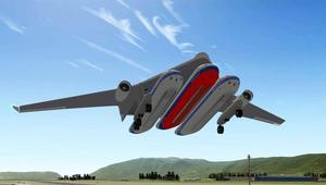 تعرّف إلى طائرة تحمل 3 مقصورات وتسير على البر