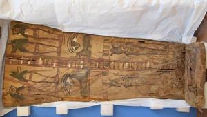 السلطات المصرية تستعيد غطائين حجريين فرعونيين من اسرائيل