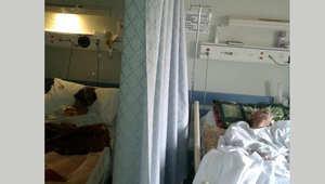 صورة أرشيفية لمرضى في أحد المستشفيات السعودية