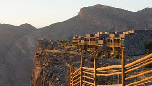 أهلاً بك في عليلة الجبل الأخضر.. أعلى فندق في الخليج!