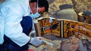 استخراج 8 مومياوات جديدة في مصر