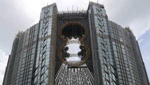 """افتتاح أول دولاب هواء على شكل الرقم """"8"""" في """"مدينة الخطيئة الصينية"""