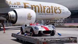 طيران الإمارات ينقل أول سيارة صُممت وصنعت في الإمارات