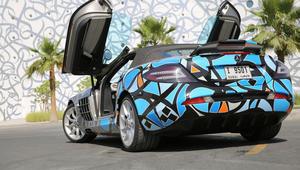 ما قصة رسوم الغرافيتي على هذه السيارات الفاخرة في الخليج؟