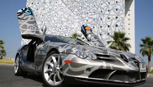 ما قصة رسوم الغرافيتي على هذه السيارات الفاخرة؟