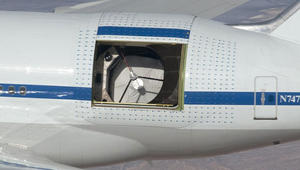 """""""747 صوفيا"""".. طائرة تحمل مرصداً فلكياً على متنها"""