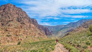 هل هذه هي الطريق الأجمل في الأردن؟هل تعرف كم يوماً يستغرق عبور الأردن سيراً على الأقدام؟