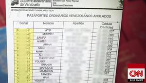 تحقيق لـCNN يرجّح المتاجرة بجوازات سفر فنزويلية لعرب على صلة بحزب الله