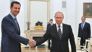 """الأسد عند بوتين لشكره على """"إنقاذ الدولة"""" وموسكو تتصل بدول بينها السعودية"""