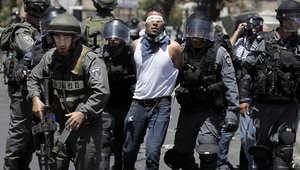 قوات إسرائيلية تعتقل فلسطيني في القدس
