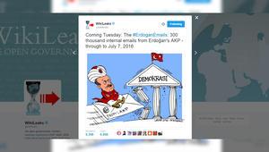 """الرئاسة التركية تؤكد لـCNN: أنقرة """"فرضت قيودا"""" على موقع """"ويكيليكس"""" بعد نشره """"رسائل أردوغان الإلكترونية"""""""