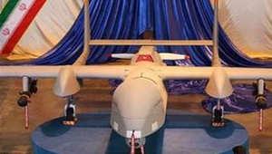 من النماذج التي عرضتها إيران للطائرات بدون طيار