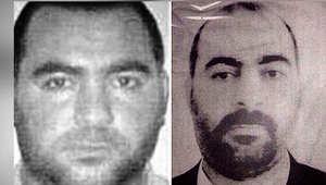 """صورة نشرتها الحكومة العراقية لزعيم """"داعش"""" أبوبكر البغدادي"""