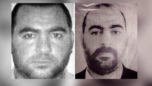 صورة للبغدادي نشرتها الداخلية العراقية