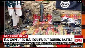 ما حقيقة صور المعدات والأسلحة الأمريكية التي نشرها داعش؟