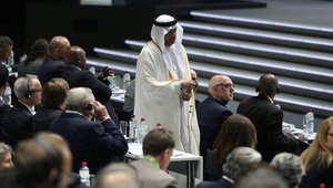انتخابات رئاسة الفيفا.. مغردون: الأمير طلال بن بندر يخرج بعد صعود رئيس الاتحاد الإسرائيلي لإلقاء كلمة
