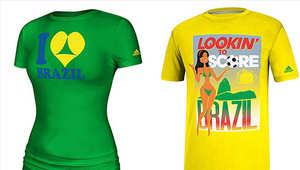 """أديداس تسحب """"قمصانا جنسية"""" أغضبت البرازيل"""