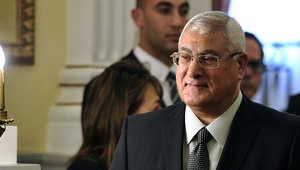 الرئيس المصري الحالي عدلي منصور