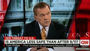 رئيس الأمن القومي الأمريكي السابق لـCNN: مستوى التهديدات اليوم جدي وأكبر مما كان إبان 11 سبتمبر