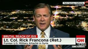 الملحق العسكري الأمريكي السابق بسوريا لـCNN: تهديد داعش بالوصول إلى روما جدي