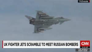 مقاتلتان بريطانيتان تعترضان طائرة روسية قرب المجال الجوي جنوب البلاد