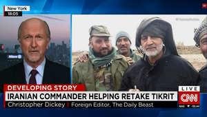 كريستوفر ديكي لـCNN: نفوذ قاسم سليماني في العراق ضخم.. وتصريحات سعود الفيصل بسيطرة إيران على العراق صحيحة