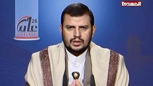 """بعد عام على """"عاصفة الحزم"""".. عبدالملك الحوثي للسعودية: اتقوا الله.. وحزب الله وحسن نصرالله عنوان الوفاء"""
