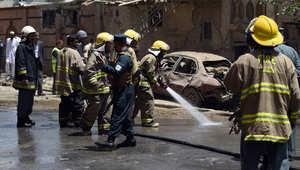 أفغانستان.. مقتل 25 مدنياً في هجوم انتحاري قرب قاعدة أمريكية