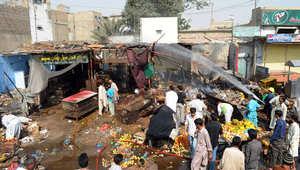 أفغانستان.. تفجير انتحاري بسوق شعبية وأنباء أولية بسقوط 15 قتيلاً