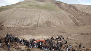 انزلاق أرضي بأفغانستان