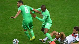 منتخب الجزائر في مباريات كأس العالم بالبرازيل 2014