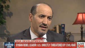 الجربا لـCNN: تأخر أمريكا سمح بظهور الجهاديين والسماح للأسد بقتلنا دون كيماوي منطق عجيب