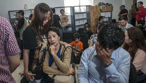 """ساعات عصيبة على أهالي 162 شخصاً على متن الرحلة 8501.. ورئيس """"آسيا الجوية"""" يطير لإندونيسيا"""